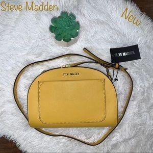 NWT Steve Madden Mustard Crossbody Purse
